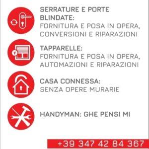 Alesini Il Serraturiere servizi