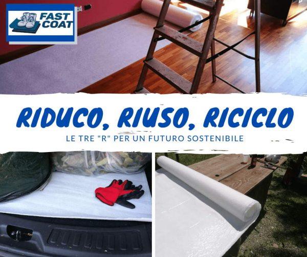 FastCoat riduco riuso riciclo